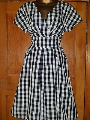 Lovely 40's 50's style dress from Joules Size 14 Vintage/Retro