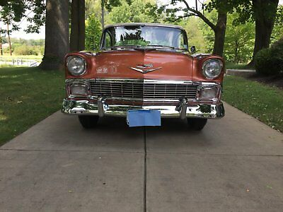1956 Chevrolet Bel Air/150/210 Bel Air Completely Restored 1956 Chevrolet Bel Air