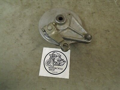 Honda Xr75 Rear Brake Plate Assembly