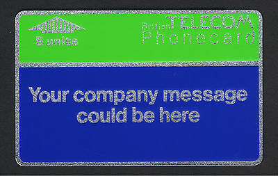 BT  BTI - 001 Internal Cards Your Company Message could be here. 1985 5,000 ptd.