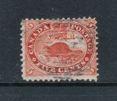 Canada #15v Used Fine - Very Fine With Major Reentry Pos 28 **With Cert.**