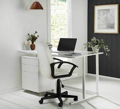 NEW Adapt Office Desk White By Fantastic Furniture