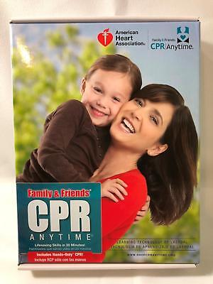 Family & Friends CPR Anytime Light Skin Hands Only CPR