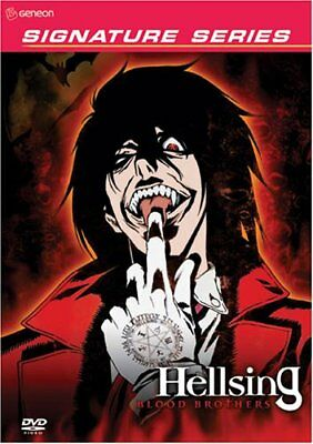Hellsing 4 DVDs Search and Destroy Blood Brothers Impure Souls Eternal Damnation