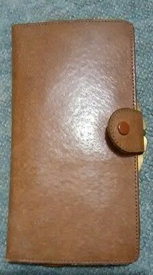 vintage retro pigskin purse /wallet vgc never used