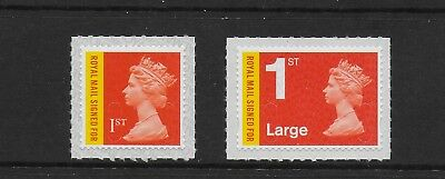 1 GB Stamps 2017 1st Recorded Delivery Signed For Definitive Set M17L.  Mint NH.
