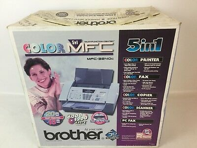 Brand New Brother 5 In 1 Color Mfc Multi-Function Center Mfc-3240C, Print, Fax++