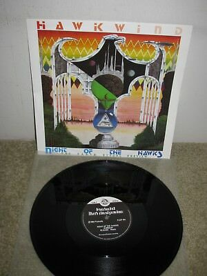 Kraut Rock Prog 12 Inch - Hawkwind - Night Of The Hawk - Uk - Flicknife - 45 Rpm