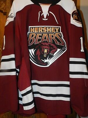 Hershey Bears Holtby Authentic Jersey Size 60