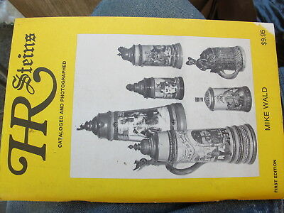 HR STEINS Cataloged & Photographed by Mike Wald S.C.I. Pub 1980 1st ed NR MINT