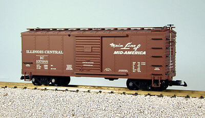 ILLINOIS CENTRAL Steel Boxcar