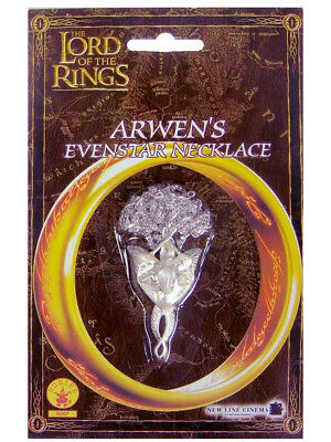 Lord of the Rings Arwen Evenstar Costume Charm Necklace