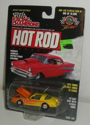 1978 Pontiac TRANS AM Hot Rod,Racing Champions Diecast  (1/64 Scale,Dated 1998)