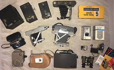 Vintage / Antique Camera Collection (8 Still, 2 Movie, plus more...)