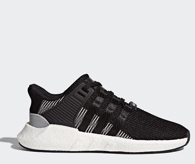 New Adidas Original Mens Sz 10.5 Eqt Support 93/17 Boost Black White Shoe By9509