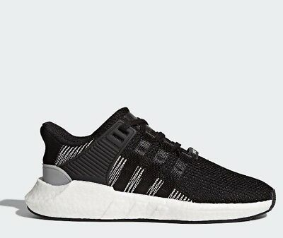 New Adidas Original Mens Sz 11 Eqt Support 93/17 Boost Black White Shoe By9509