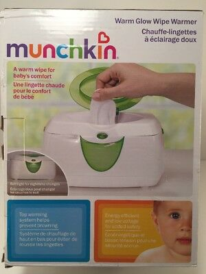 NEW OPEN UNIT Munchkin Warm Glow Wipe Warmer one size COMPLETE SET