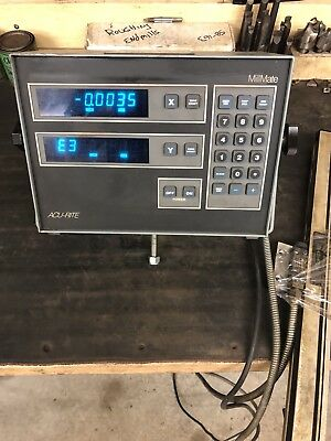 ACU-RITE 2-AXIS MILL MATE , DIGITAL READOUT With one scale