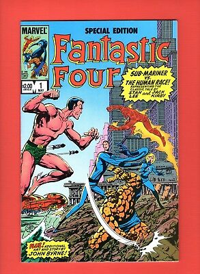 Fantastic Four Special Edition #1 - Lee - Kirby - Byrne cover! -- VF/NM  cond.