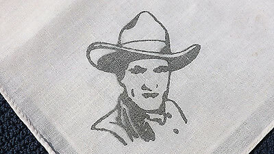 Tom Mix Kerchief Hankerchief Vintage Collectable 1930, original
