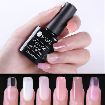 UR SUGAR 7.5ml Nail Art Quick Extension UV Gel Finger Poly Building Gel Polish