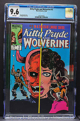 Kitty Pryde and Wolverine #2, CGC: 9.6, (Dec 1984, Marvel)