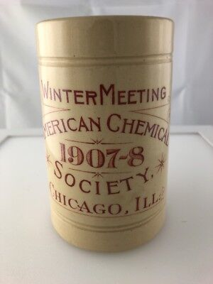 American Chemical Society Winter Meeting Chicago ILL 1907-08 NICE