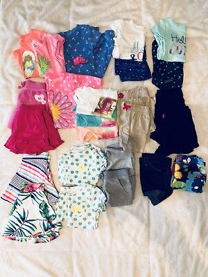 Twin Girls Clothing Lot, 4T, 31 piece, Jumping Beans, Children's Place, Circo