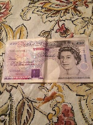 1993 Great Britain £20 Pounds Y25 296950
