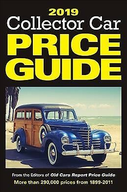 Collector Car Price Guide 2019, Paperback by Old Cars Report Price Guide (COR)