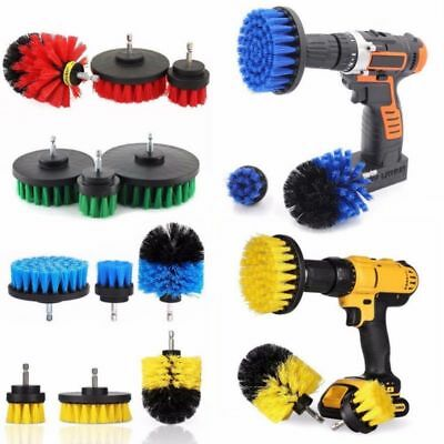 3Pcs/Set Drill Brush Wall Tile Grout Power Scrubber Tub Cleaner Combo Cleaning