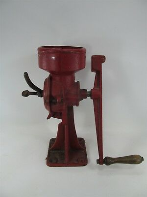 2Mb Cast Iron Grinder Mill C. S. Bell Antique