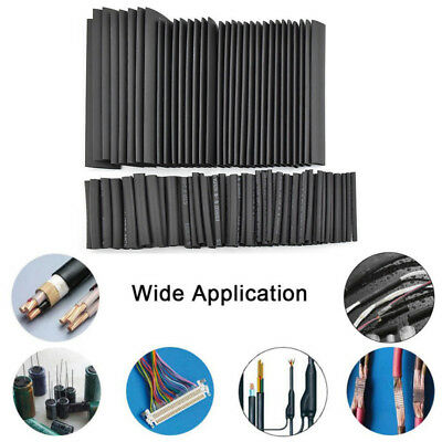 127 pcs Heat Shrink Tubing Tube Assortment Wire Cable Insulation Sleeving Kit T