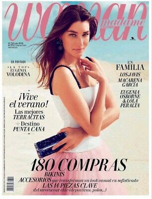 Eugenia Volodina Woman Spain July 2018 Magazine Top Model