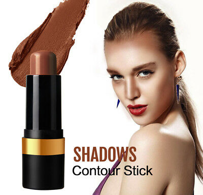Facial Contour Stick Highlight Bronzer Contouring 3D Face Conclear Cream 2018