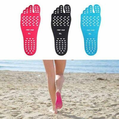 US Beach Adhesive Foot Pads Feet Sticker Stick On Soles Flexible Feet Protection