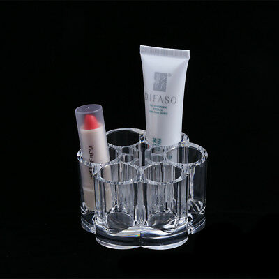 Practical Clear Cosmetic Storage Makeup Case Cotton Bud Pad Box Lipstick Holders