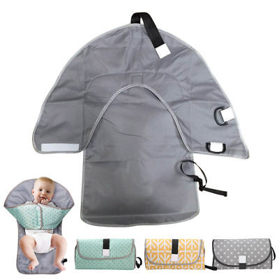 Baby Nappy Diaper Bag Changing Change Clutch Mat Foldable Pad Handbag Wallet AU