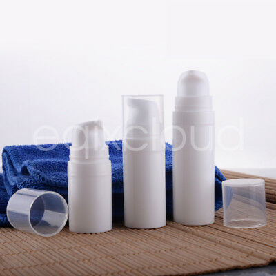 Lot 5ml 10ml 15ml Portable Empty Plastic Airless Lotion Pump Bottles Container
