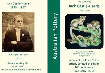 Castle-Harris  Brand New Release Collector's Price Guide 2018 Australian Pottery