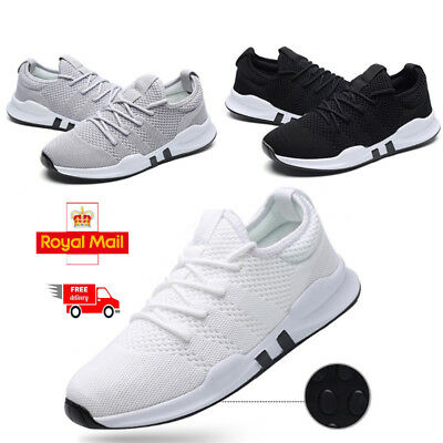 Mens Shoes Running Trainers Breathable Absorbing Comfy Skateboarding Shoes Sport