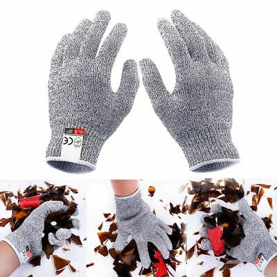 2Pcs Cut Resistant Gloves Anti Cutting Cut Food Grade Kitchen Butcher Protection