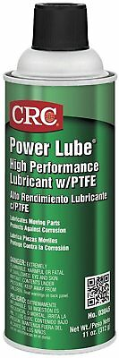 CRC Power Lube Industrial High Performance Lubricant with PTFE, 16 oz. NEW