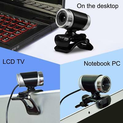 USB 50MP HD Webcam Web Cam Camera Clip on Stand For PC Laptop Desktop NoteboD