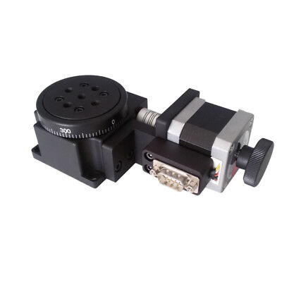 Electric Rotating Platform Motorized Precision Rotray Stages Table Diameter 60mm