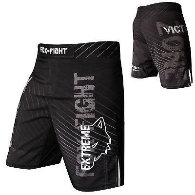 FOX-FIGHT Extreme MMA Fight Hosen Short Muay Thai Kickboxen Shorts Kampfsport