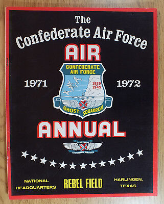 Vintage Confederate Air Force Airshow Harlingen Air Annual  Program 1971 - 1972