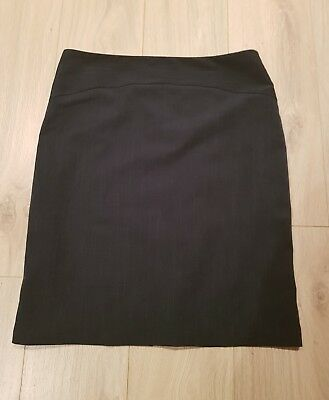 Jacqui e grey pencil skirt Size 16 work corporate Excellent condition made in AU
