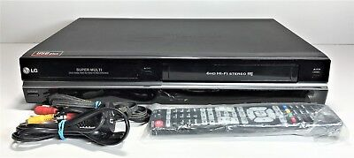 Lg Dvd / Vhs Combo Player Rc299 | + Dubbing Record Vhs To Dvd | With Remote