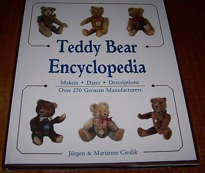 Teddy Bear Encyclopedia - Jurgen & Marianne Cieslik